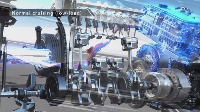 Chế độ di chuyển ổn định của xe Hybrid
