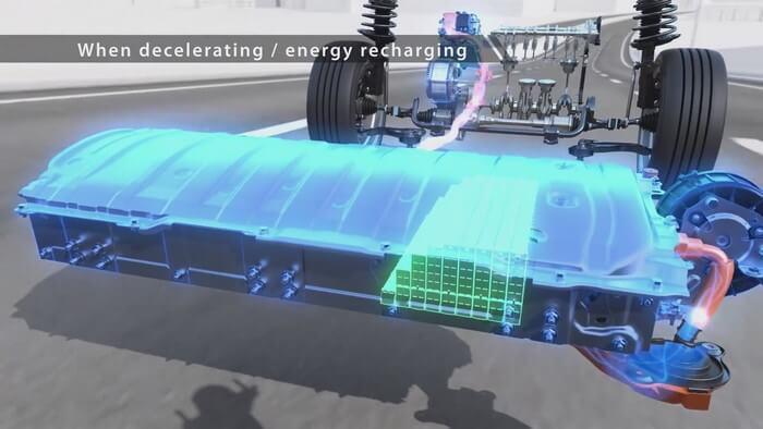Chế độ giảm tốc của xe Hybrid