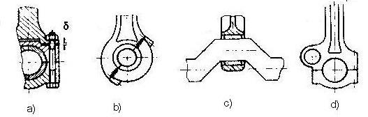 Cơ cấu đầu to thanh truyền